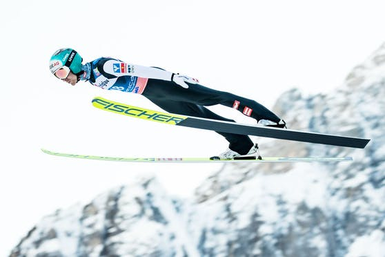 Michael Hayböck in Planica.