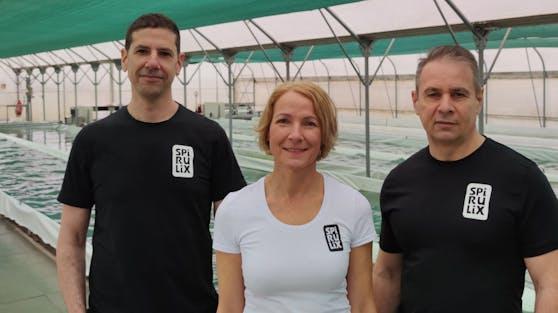 Karl Pfiel, Martina Pfiel und Elad Zohar sind die Gründer von Spirulix.
