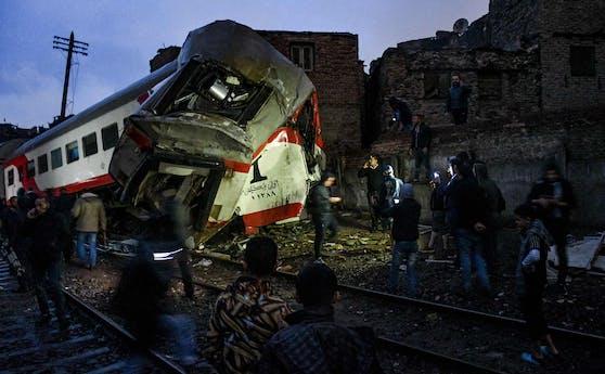 In Ägypten kostete ein Unfall mit zwei beteiligten Zügen mindestens 32 Menschen das Leben. (Archivbild)