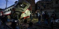 Zug-Unglück fordert mindestens 32 Tote in Ägypten