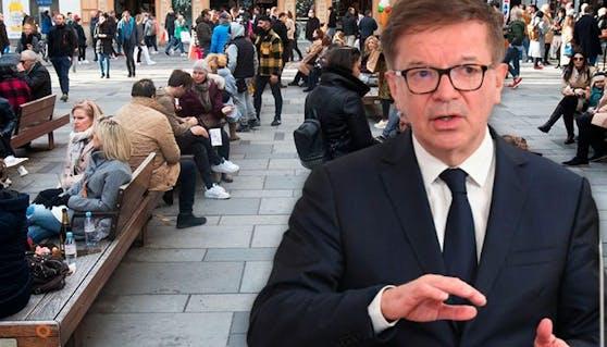Gesundheitsminister Anschober (Archivfoto) bitte darum, nicht erst auf die Osterruhe zu warten.