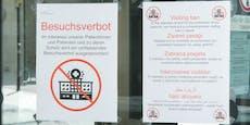 Erste Krankenhäuser verhängen wieder Besuchsverbote