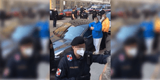 Polizei zog Schuhe in Moschee nicht aus – Eskalation