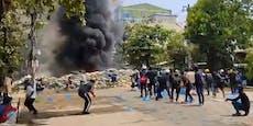 """Myanmar erlebt """"blutigsten Tag"""" seit dem Militärputsch"""