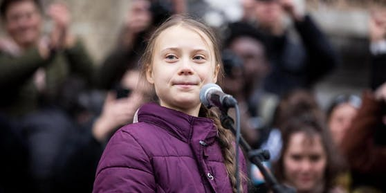 Greta Thunberg stört sich an der ungleichen Impfstoff-Verteilung.