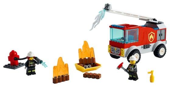Das LEGO City Feuewehrauto.