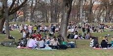 400 Grazer feiern nach Sperrstunde Party im Stadtpark