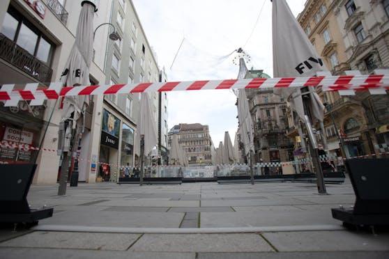 Der Lockdown in Wien dauert noch bis Samstag.