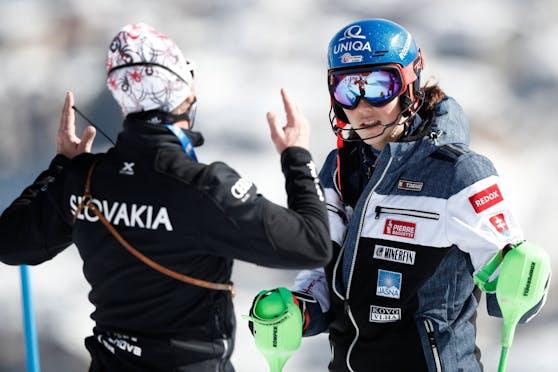 Livio Magoni ging auf Petra Vlhova los.