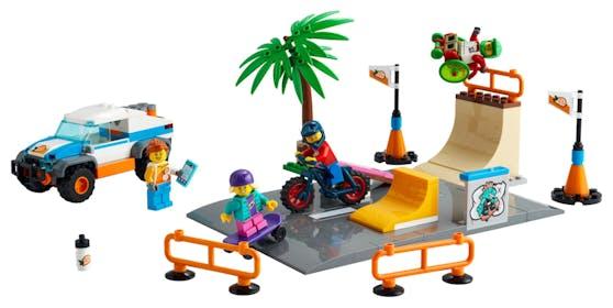 Der LEGO City Skate Park.