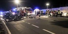 Ohne zu helfen, fuhr Zeuge nach Crash einfach weiter