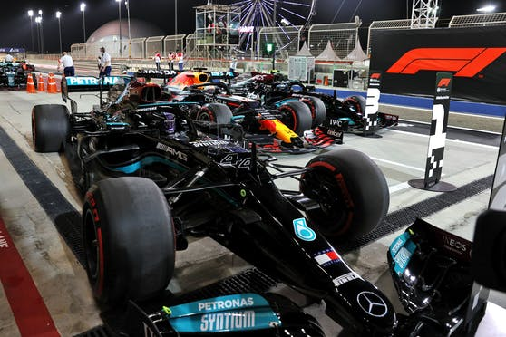 Hautnah dabei: Sieger-Bolide von Lewis Hamilton in Bahrain