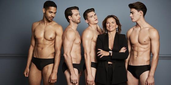 Unternehmerin Claudia Obert (59) kann aus zehn Männern auswählen.