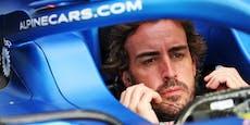 Alonso stoppt eine Sandwich-Verpackung bei Comeback