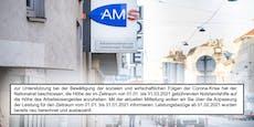 AMS überweist Extra-Geld: Wer aller den Zuschuss erhält