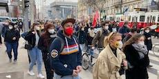 Ringsperre – Schüler-Demo legt Wiener Abendverkehr lahm