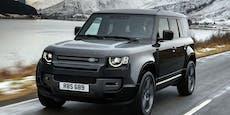 V8-Power für den neuen Land Rover Defender