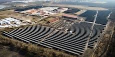 Österreichs größte Photovoltaik-Anlage steht in Essling