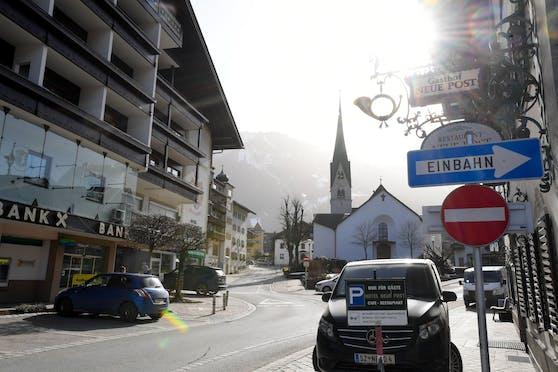 Mayrhofen im hinteren Zillertal ist einer der Hotspots der Südafrika-Mutante im Bezirk Schwaz.