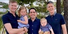 Darum haben diese Kinder stolze drei Väter