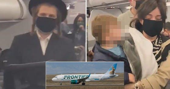 Der Frontier-Airlines-Flug von Miami nach New York wurde am Ende gestrichen.