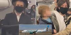 Baby trug keine Maske – Familie aus Airline geworfen