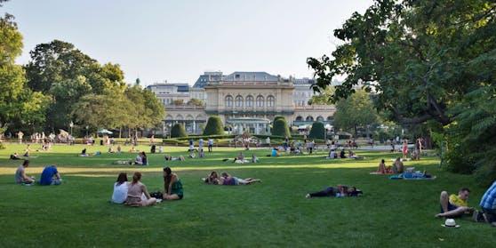Im Stadtpark sollen ganze zehn Schanigarten-Zonen entstehen.