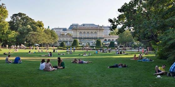Der Stadtpark als Hoffnungsgebiet.