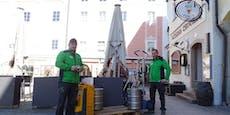 Wegen Corona wird jetzt aus Bier Schnaps