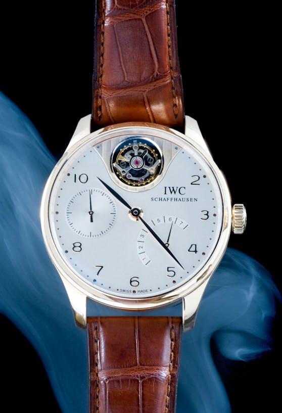 Teure Uhr verschwand (Symbolfoto einer IWC)