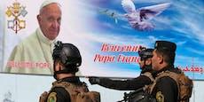 Raketenangriffe vor Papstbesuch im Irak