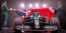 James Bond und Tom Brady stellten neues Vettel-Auto vor