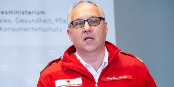 Bundesrettungskommandant Gerry Foitik