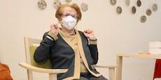 Wienerin bekam Corona-Impfung mit 105 Jahren