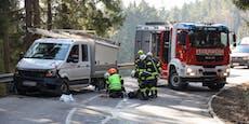 Biker bei Unfall mit Kleintransporter gestorben