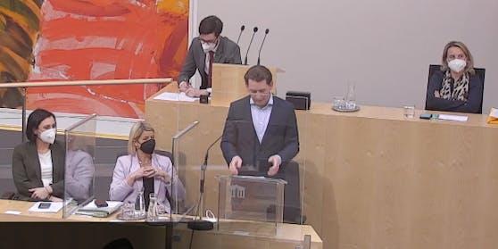 Sebastian Kurz im Bundesrat
