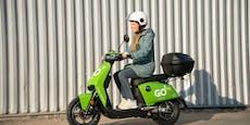 GO Sharing startet in Wien: Das neue E-Moped im Test