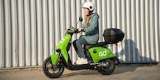 Neuer E-Moped-Verleih geht in Wien an den Start