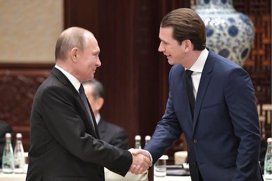 Kurz und Putin telefonierten.