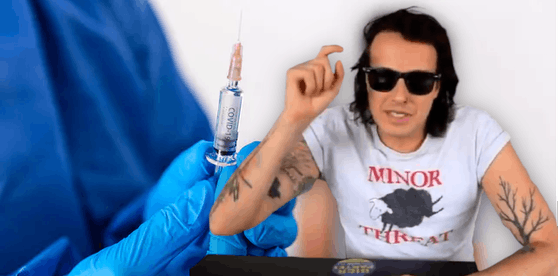 Marco Pogo ärgert sich über die Absage der Impfstraße.