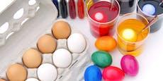 Warnung! So gefährlich sind Eierfarben