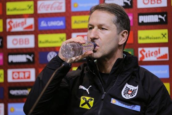 ÖFB-Teamchef Franco Foda