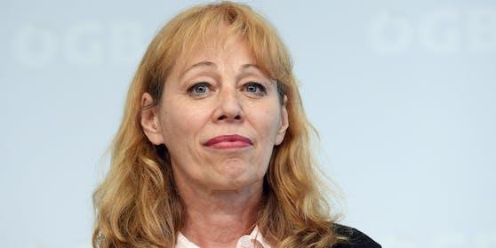 Die Leitende Sekretärin des ÖGB Ingrid Reischl setzt sich für tägliche Tests am Arbeitsplatz ein