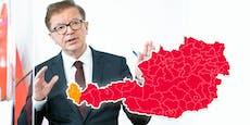 """Anschober will """"Notbremse"""" in acht Bundesländern ziehen"""