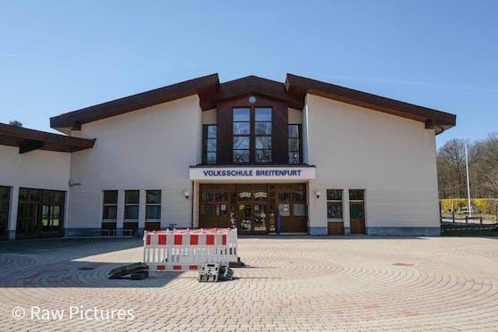 Die betroffene Schule in Breitenfurt