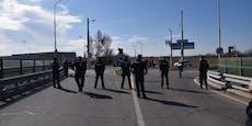 Sieben Demonstranten müssen nach A4-Chaos vor Gericht