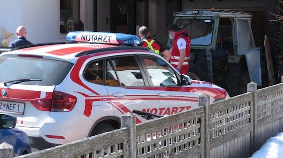 In Achenkirch kam es zu einem tödlichen Arbeitsunfall.