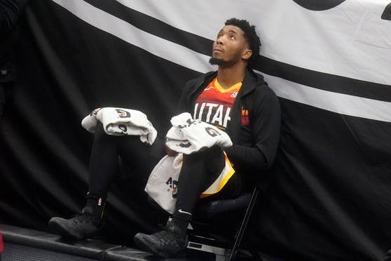 "Utah Jazz ""Guard"" Donovan Mitchell"