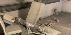 Heftige Schäden – Decke nach Erdbeben in NÖ eingestürzt