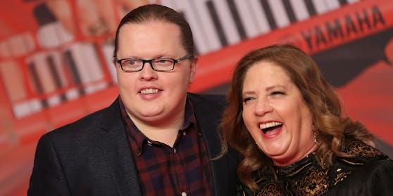 Angelo und seine älteste Schwester Kathy Kelly